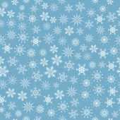 Seamless snowflakes — Stock Vector