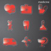 Medicin — Stockvektor