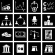 Economy icons — Stock Vector