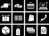 Trade icons — Stock Vector
