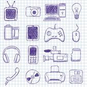 Electronics — Stock Vector