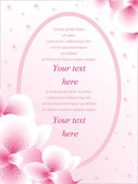 Vector wedding card or invitation — Vecteur