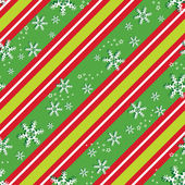 Seamless pattern in Christmas colors — Stock Vector