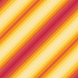 Seamless diagonal pattern, red, orange, yellow colors - vector eps8 — Stock vektor