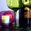 Stock Photo: Red wines