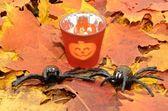 Halloween items — Stock Photo