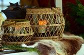 Decorative basket — Stock Photo