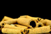 Cinnamon sticks closeup — Photo
