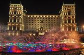 Night Baku — Stock Photo