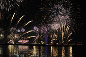 Night celebration — Stock Photo