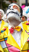 Karnaval adam — Stok fotoğraf