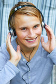 Rocking with some beats. — Stock Photo