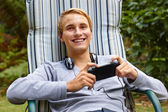 This is the teenager's life. — Stock Photo