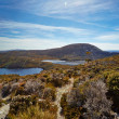 Stock Photo: Alpine tarns on Overland Trail, Cradle Mountain, Tasmania