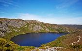 Alpine Lake on Overland Trail, Cradle Mountain — Stock Photo