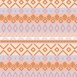 Native american traditional seamless pattern in pastel colors, vector — Image vectorielle