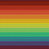 Knitted mexican blanket seamless pattern, vector — Stock Vector