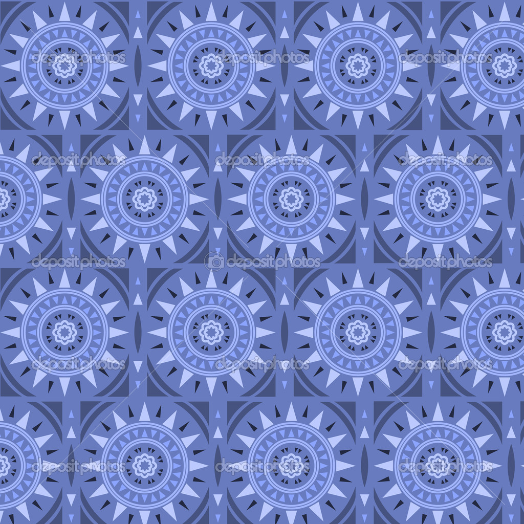 Moroccan tile solar seamless pattern, vector — Stock Vector ...