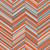 Chevron geometric seamless pattern, vector — Stockvektor