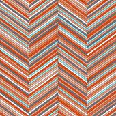 Chevron geometric seamless pattern, vector — Stock Vector