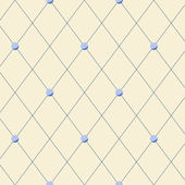 Bright beige diamond shape geometric seamless pattern, vector — Stockvektor