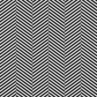 Black and white herringbone fabric seamless pattern, vector — Stock Vector #20353511
