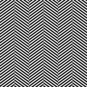 Black and white herringbone fabric seamless pattern, vector — Stock Vector