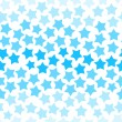Blue stars seamless pattern, vector background — Stock Vector