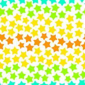 Wzór kolorowe gwiazdki, tło wektor — Wektor stockowy