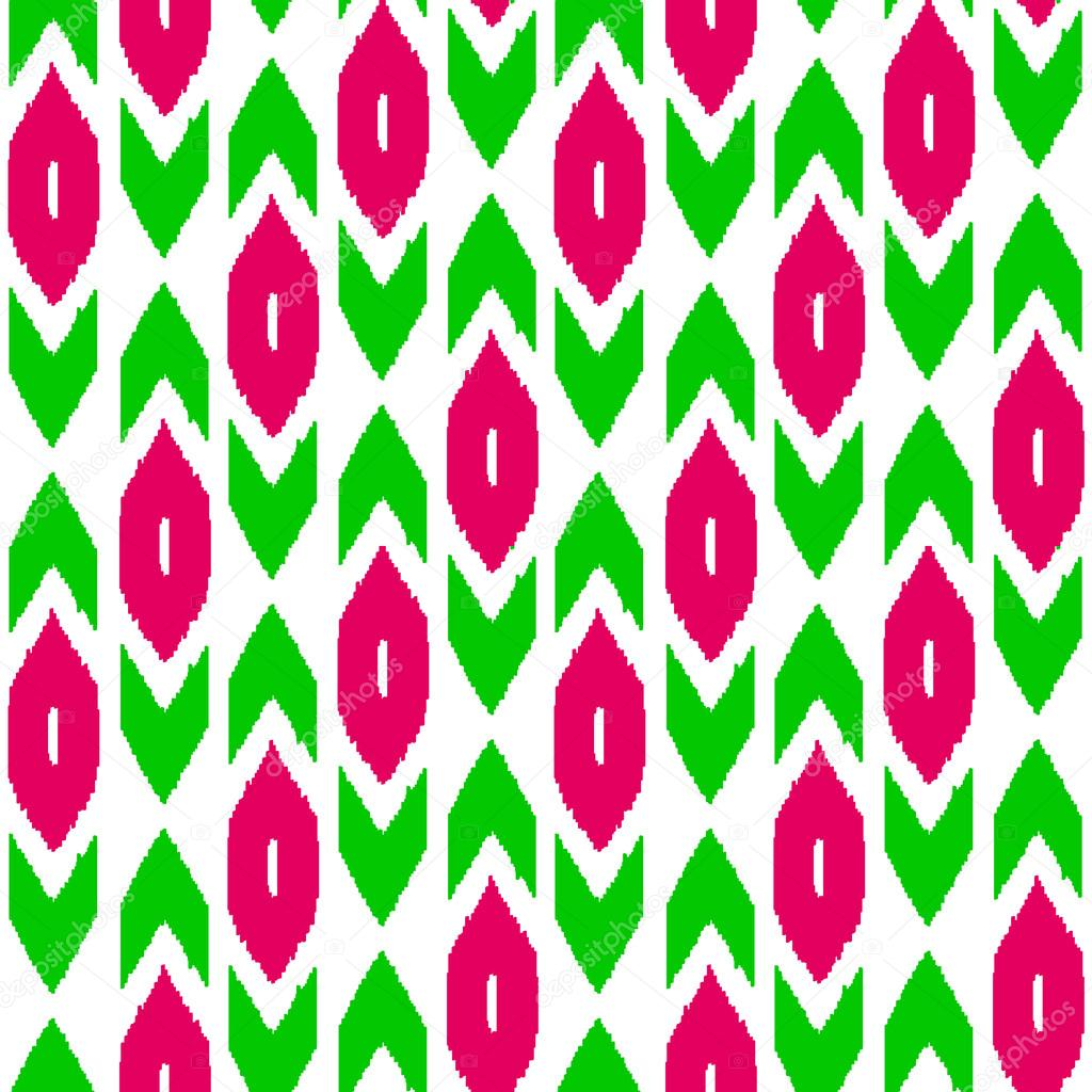 Ikat traditional middl...