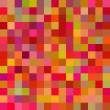 Abstract colorful geometric square seamless pattern, vector — Stockvectorbeeld
