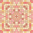 Abstract geometric colorful pink squares seamless pattern, vector — Stock Vector