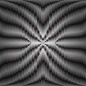 Fütüristik siyah ve beyaz soyut geometrik arka plan, vektör — Stok Vektör