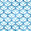Abstract blue lattice on white grunge seamless pattern, vector — Stock Vector