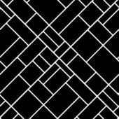 Black and white diagonal squares geometric seamless pattern, vector — Stock Vector