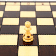 The pawn — Stockfoto