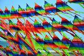 Pipas coloridas — Fotografia Stock