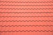Red roof as background — Stock Photo