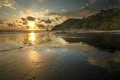 Costa Rica Jungle Beach — Stock Photo