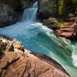 Beautiful canyon waterfall — Stock Photo #28593421