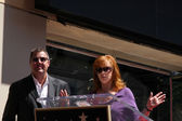 Vince Gill and Reba McEntire — Stock Photo