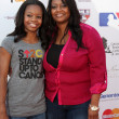Gabby Douglas and Natalie Hawkins — Stockfoto