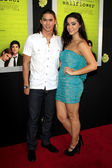Booboo Stewart and Fivel Stewart — Stock Photo