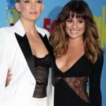 Kate Hudson, Lea Michele — Stock Photo