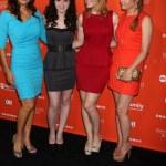 Constance Marie, Vanessa Marano, Katie Leclerc, Lea Thompson — Stock Photo