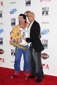 Chuck Zito, David Labrava — Stock Photo