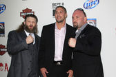Roy Nelson, Brendan Schaub, Shane Carwin — Stock Photo