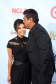 Eva Longoria, George Lopez — Stock Photo