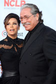 Eva Longoria, Edward James Olmos — Stock Photo