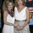 Drew Barrymore and Jessica Lange — Foto Stock